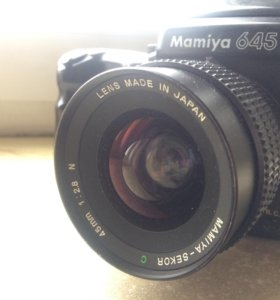 Mamiya 645 pro tl 45/2.8+ 80/2.8