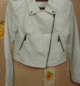 Новая кожаная куртка косуха