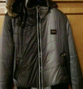 Теплая зимняя куртка (46-48 разм)