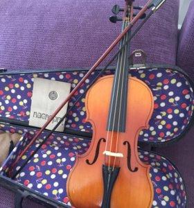 Скрипка 2/4 в отличном состоянии