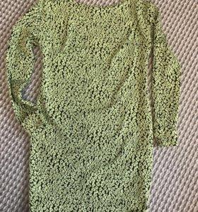 Тёплое платье для беременной
