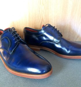 НОВЫЕ элитные туфли ручной работы
