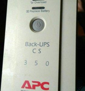 Ибп APC Back-UPS сs 350VA (BK350-EI)