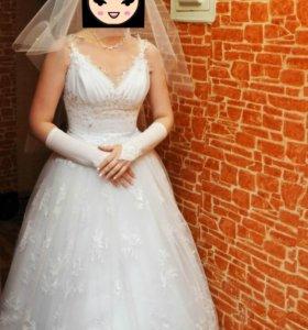 СРОЧНО! Свадебное платье!
