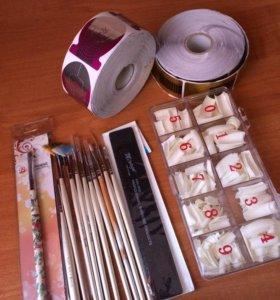 Материалы для дизайна и наращивания ногтей!
