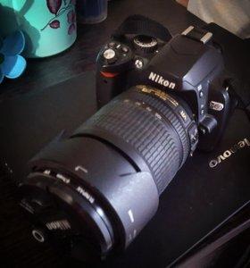 Nikon d60, Nikkor 18-105