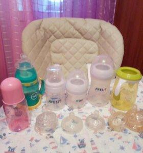 Бутылочки для кормления- подарок (соска пустышка)