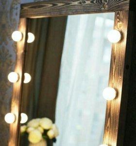 Зеркала гримерные, настенные на весь рост