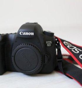 Canon 6D на гарантии