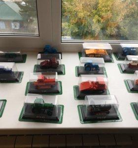 Продам коллекцию тракторов (30 моделей )