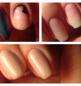 Покрытие ногтей гель-лак