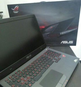 Лютый игровой ноутбук ASUS ROG G751J