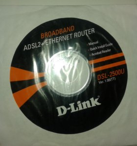 Роутер DSL-2500U