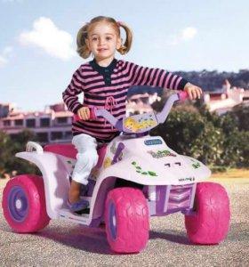 Детский квадроцикл peg perego