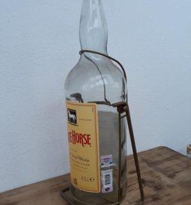 Бутылка - качель