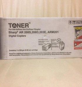 Тонер-картридж sharp AR-208