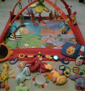 Коврик + еще игрушки