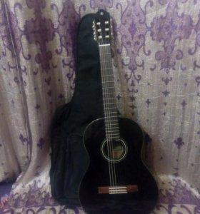 Классическая гитара Yamaha С-40 BL с чехлом