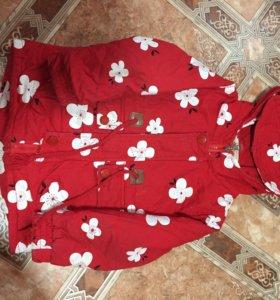 Куртка детская (осень-весна )рост 110