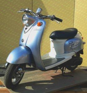 Скутер в ретро стиле Yamaha Vino 49 куб. см.