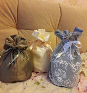 Подарочные мешочки.