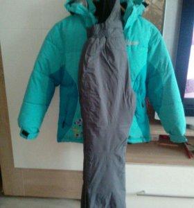 Куртка зимняя со штанами на девочку
