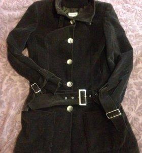 Вельветовое пальто в идеале
