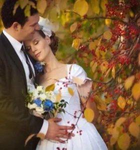 Ведущий на свадьбу осенью