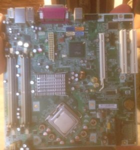 материнка hp p5bw-btx и проц intel Core 2 Duo