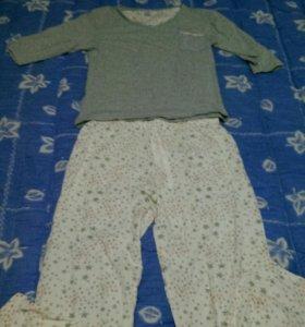 Домашняя одежда / пижама со звездами новая
