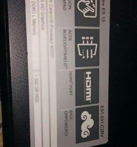 Ноутбук Acer aspire ES 15 ES 1-531 C2RV