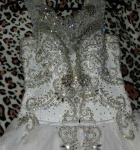 Свадебное платье НОВОЕ!!!!!