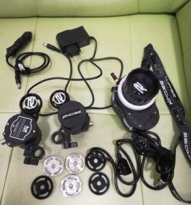 Система трех моторного радио фокуса Kinorg