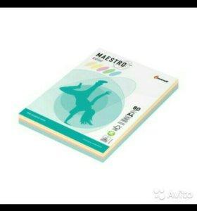 Бумага цветная 500 листов