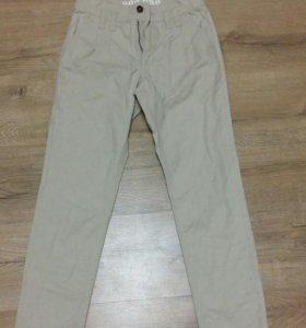 Фанк брюки с высокой талией р-р xs