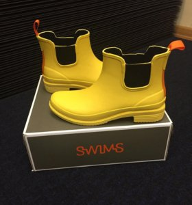 Swims новые резиновые сапоги. 38 размер