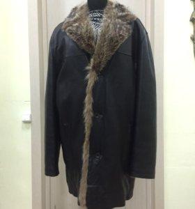 Куртка мех волка