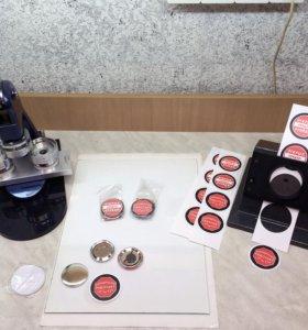 Изготовление значков и магнитов 50 мм (закатных)