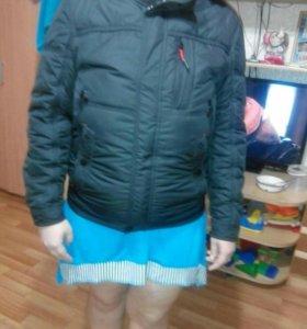 Куртка мужская весна -осень 48 размер