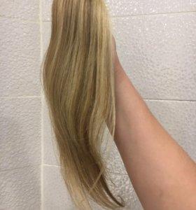 Живые волосы на капсулах