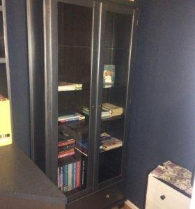 Шкаф икеа и стеллажи