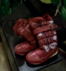 Обувь детская сапоги