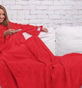 Одеяло плед с рукавами