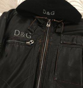 Кожаная куртка DG Италия