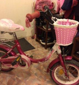 """Велосипед для девочки,12"""""""