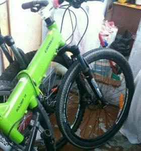 Велосипед горно-скоростной