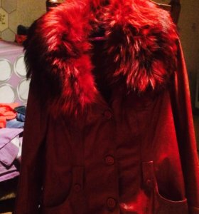 Кожаная курточка, мех писец