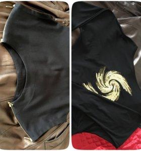 Блуза, платье и юбка р. 42-44 чёрные