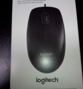 Мышь оптическая Logitech.Новая