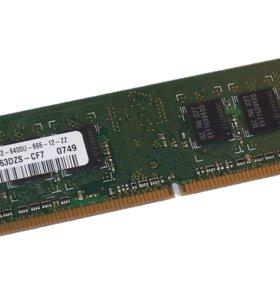 Модуль памяти Samsung DDR2 1 Gb